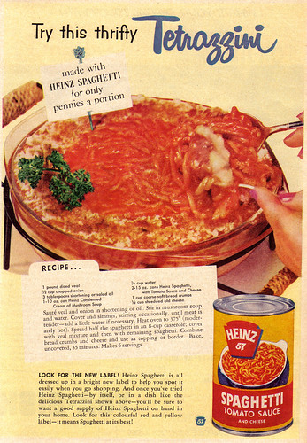 Vintage Ad #520: Thrifty Tetrazzini
