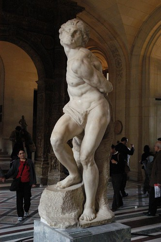 Rebelious Slave by Michelangelo