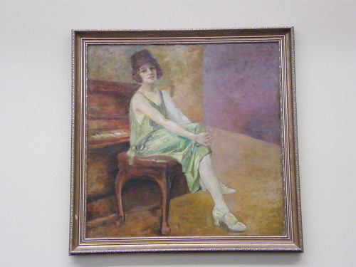 Title Unknown - Woman Seated at Piano