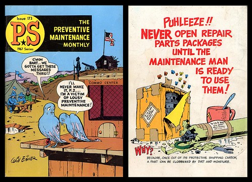 Preventive Maintenance Monthly Issue 173, 1967 (Will Eisner)