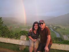 Hanalei Valley Overlook (Doug K) Tags: hawaii rainbow kauai hanalei