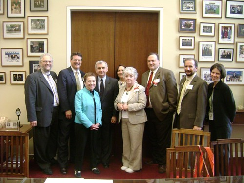 RI delegation with Senator Reed