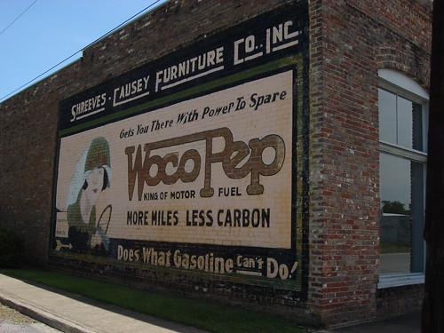 WocoPep Advertising Mural, York Alabama