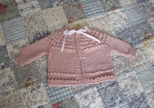 Quickie Baby Sweater