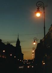 Warsaw at Night (J_Piks) Tags: lampposts street night dark lights warsàw warszawa poland polska streetlights streetlighting