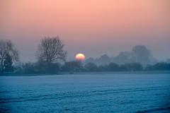 Wintersonne (Pixelkids) Tags: sonnenaufgang sonne morgen morgennebel graslfing bayern sunrise deutschland sun fog