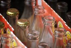 Coke Bottles (tidonation) Tags: closeup fortlangley cokebottles