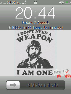 chuck Norris weapon