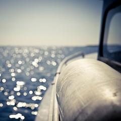 Bokeh ocean (Arnbear) Tags: ocean blue sea summer sun water norway canon vintage easter square boat bokeh magic sigma sunny fender srlandet kristiansand summerly sigma30mm bokehsea 30mmf4 randesund bokehocean