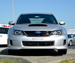 Subaru Impreza STI (: : carrie : :) Tags: car silver myrtlebeach nikon south subaru carolina impreza sti awd 2010 silvercar fastcar subarusti l100 imprezasti nikonl100 awdcar