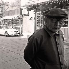 Elder (musicmuse_ca) Tags: china street blackandwhite bw 15fav sepia interestingness beijing elder 北京 中国 liulichang sr148 interestingness245 i500