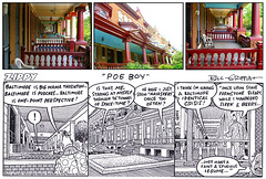 Zombie and Zippy comic-plus: Baltimore rowhouse strip with local photos (Zombie37) Tags: city houses frames comic view perspective inspired baltimore porch comicstrip zippy block rowhouse rowhouses zippythepinhead porches charlesvillage onepointperspective onepoint spacetimetunnel identicalcrisis poeboy afaintandspuriouslegume