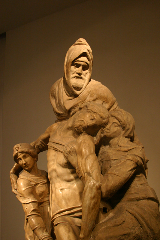 Michelangelo's-Unfinished-Pieta