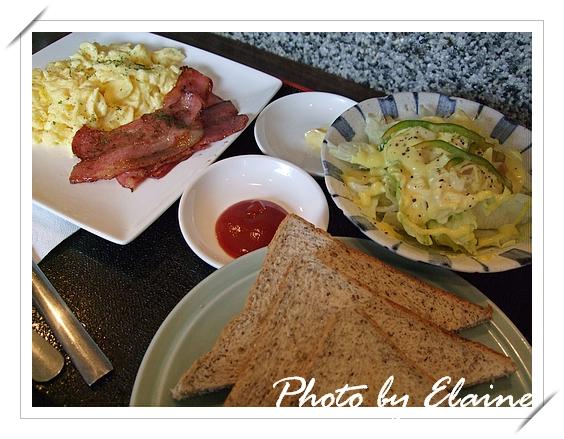 美式培根早餐
