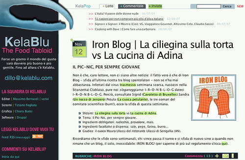 Iron Blog