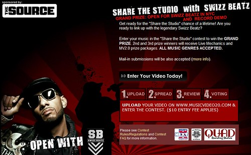 swizz beatz the source contest