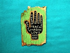 teach & love & imagine by denise carbonell, on Flickr