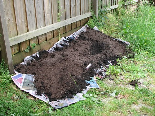 Compost layer