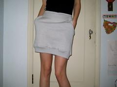 suknja od stare majice