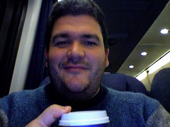 Morning Coffee on the Acela