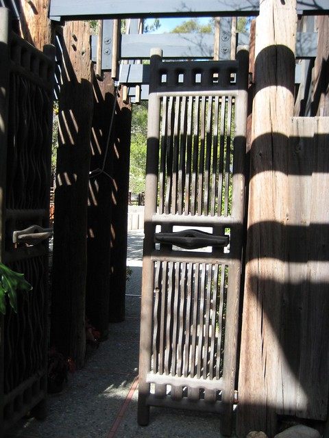 Sam Maloof Garden Gate