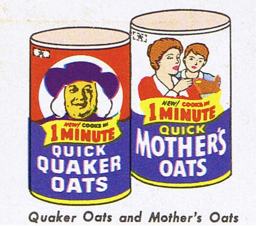 Quaker Oats and Mother's Oats