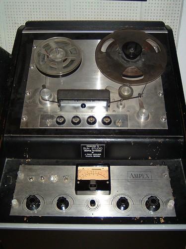 Recording equipment @ Sun Records, Memphis