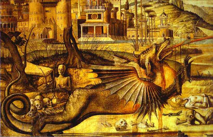 CARPACCIO, Vittore St. George and the Dragon. Detail. 1504-1507