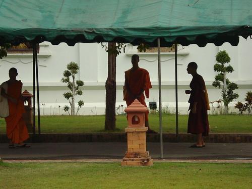 monjes en la sombra