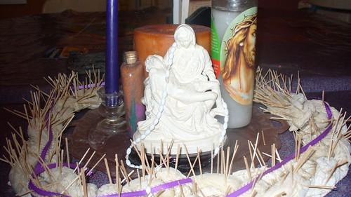 Our Lenten Centerpiece 2008