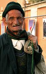 ... (matiya firoozfar) Tags: old portrait man persian iran persia rosary iranian  esfahan isfahan chaplet   canon400d matiya  matiyafiroozfar    firoozfar  flickriver greenrosary