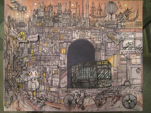 Deuce 7 at BLVD Gallery - music art film review - REDEFINE magazine