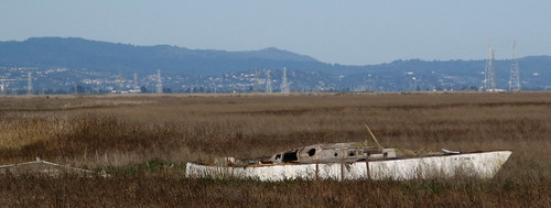 Decaying sailboat