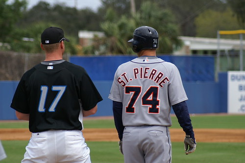 Lyle Overbay and Max St. Pierre