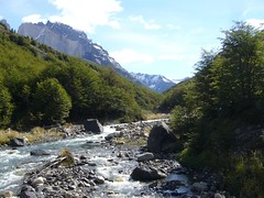 Torres del Paine - trek - riviere