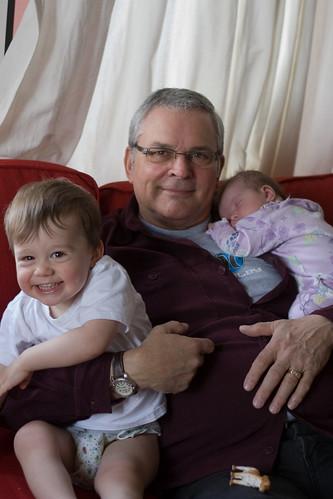 hangin with grandpa