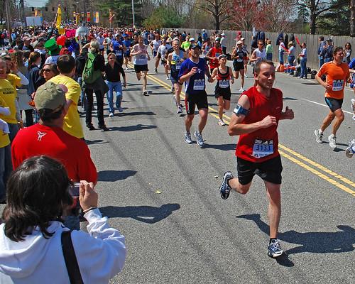 Boston Marathon 2008. Photo: Paul Keleher