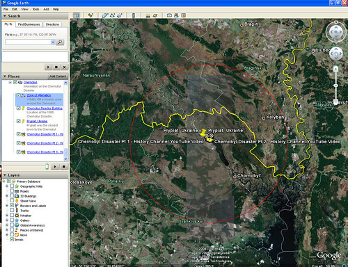 Chernobyl-Google-Earth