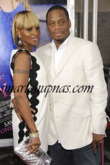 mary j blige and her husband at the premire of sex and the city
