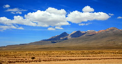 Peruvian landscape (kees straver (will be back online soon friends)) Tags: travel blue sunset sky mountain mountains green peru southamerica nature water colors field grass yellow clouds canon landscape canyon arequipa colca colcacanyon naturesfinest mywinners anawesomeshot keesstraver caylloma