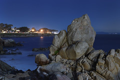 Moonlight Asilomar (Steve Gumina Photography) Tags: pacificgrove longexposure nightphotography nocturnes california montereybay seascapes moonlight moonscape