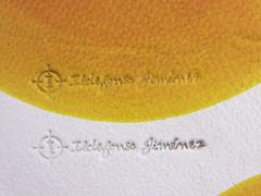 piel badana natural marcada a golpe punzon fino (www.omellagrabados.com) Tags: badana marcada piel pele carimbo fourrure fur
