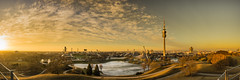 Spring is Coming! - Pano Olympic Parc Munich (Explore #165 am 18-02-2017) (Da_Marco) Tags: sunset munich olympicparc sun panorama