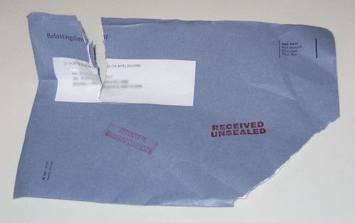 Damaged mail