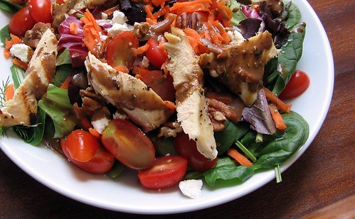 Chicken Salad with Balsamic Vinaigrette