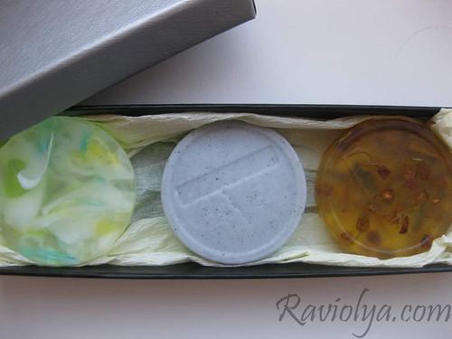 Фото набор мыла из основы