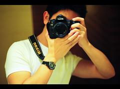 Gratuitous Photo of Myself (michaeljosh) Tags: selfportrait lookingforinspiration mirrorshot whiteshirt hotelbathroom nikkor50mmf14d vanityshot project365 101days ilovenikon nikond90 tumblr gpoyw michaeljosh gratuitousphotoofmyself creativejuicerefill