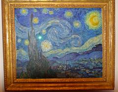 Starry Night (scottnj) Tags: nyc newyorkcity ny moma museumofmodernart starrynight vincentvangogh scottnj