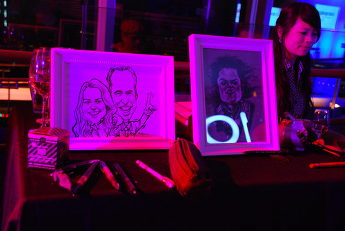 Caricature live sketching for TLC - i