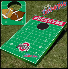 Ohio State Bean Bag Toss Game
